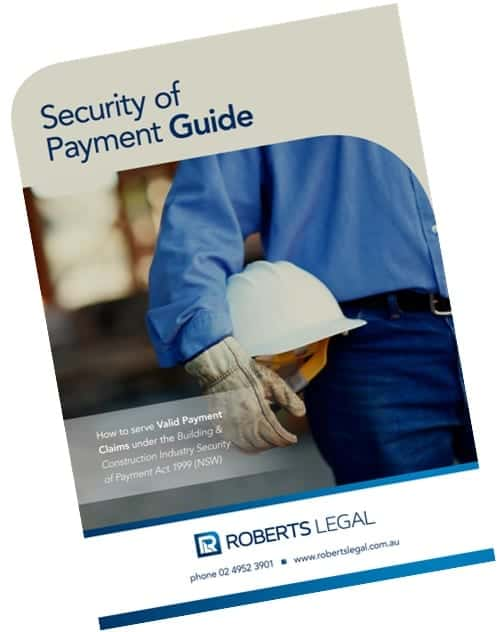 Security of Payment Guide 350
