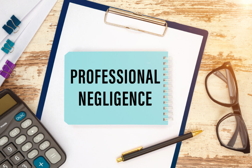 surcharge purchaser duty professional negligence