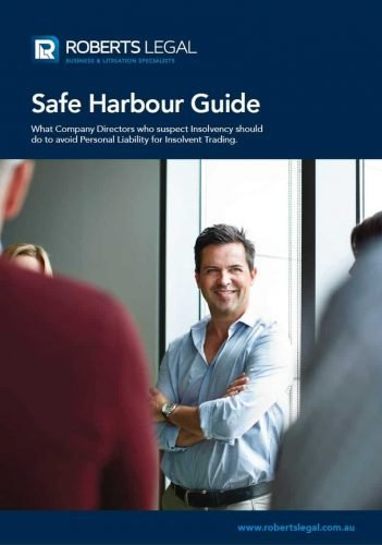 Roberts Legal Safe Harbour Guide
